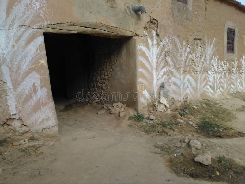 Старая цивилизация в горах атласа стоковые изображения rf