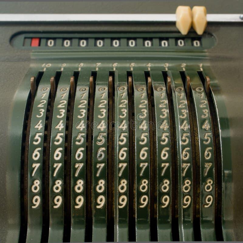 старая чалькулятора механически стоковые изображения