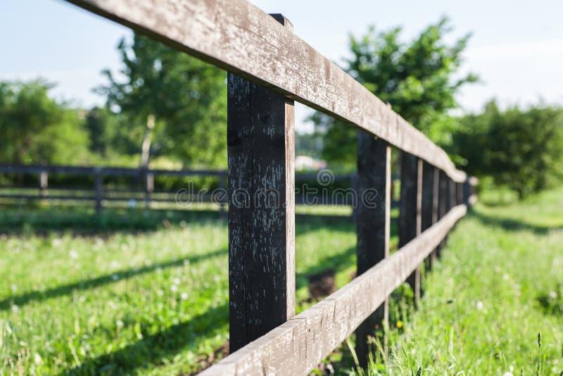 Старая часть загородки стоковое фото rf