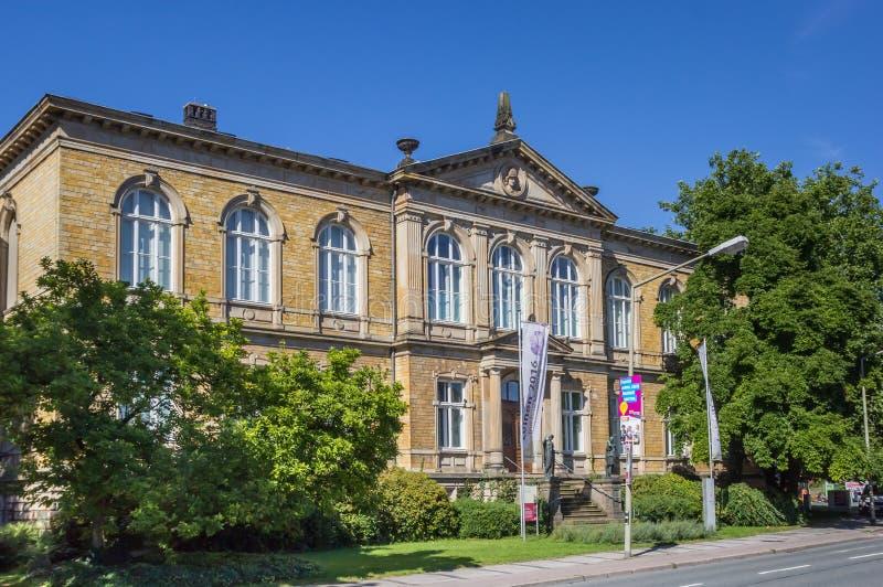 Старая часть музея Феликса-Nussbaum-Haus в Оснабрюке стоковая фотография rf