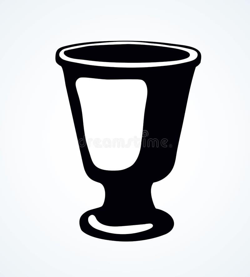 Старая чашка r бесплатная иллюстрация