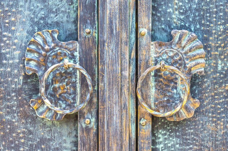 Старая scratchy бронзовая текстура стоковая фотография rf