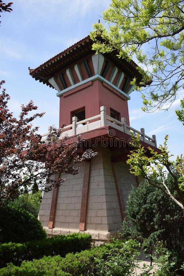 Старинные здания в Китае стоковая фотография