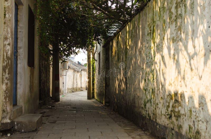Старинные улицы стоковое изображение
