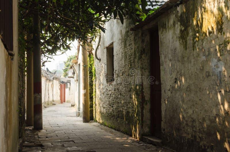Старинные улицы стоковое фото