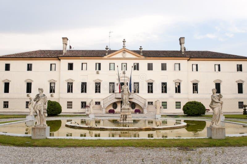 стародедовская вилла treviso veneto парка Италии стоковое фото rf