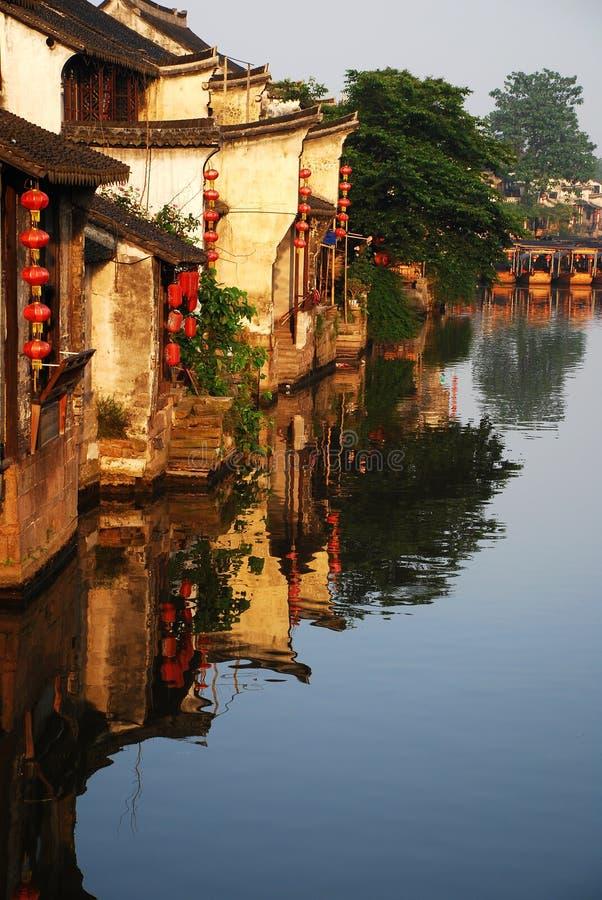 стародедовская вода городка стоковое фото