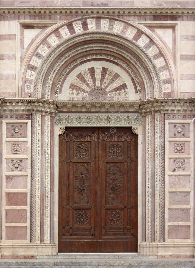 стародедовская дверь стоковое изображение