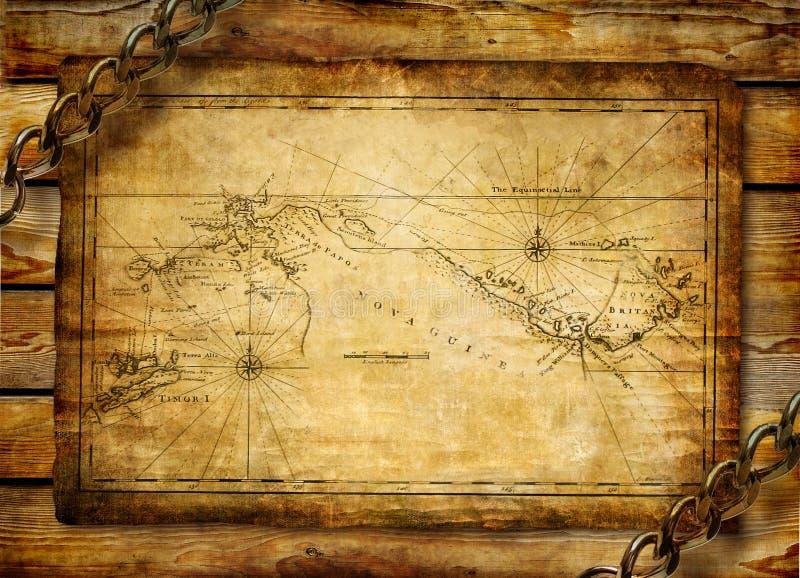 стародедовская карта иллюстрация вектора