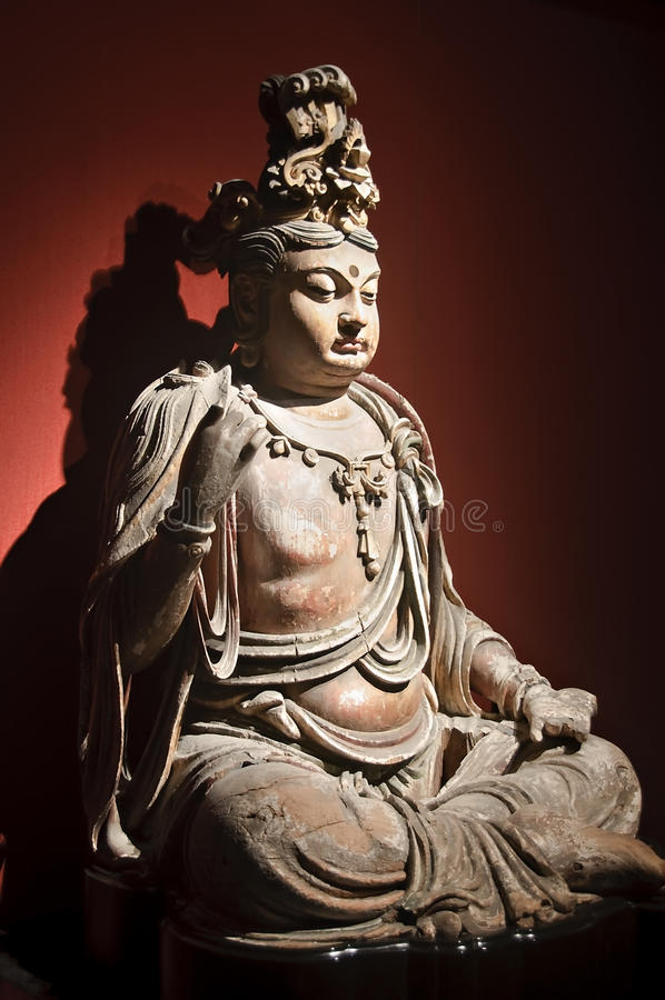 стародедовская китайская скульптура стоковые фотографии rf