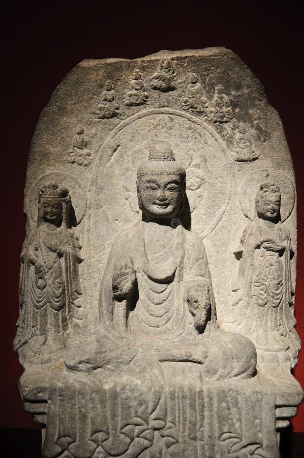 стародедовская китайская скульптура стоковые изображения