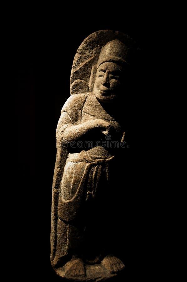 стародедовская китайская скульптура стоковые фото