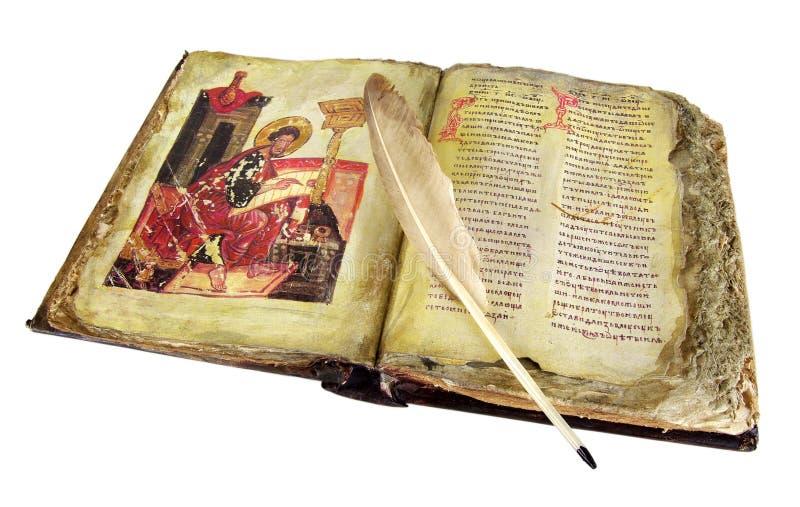 стародедовская книга стоковые изображения rf