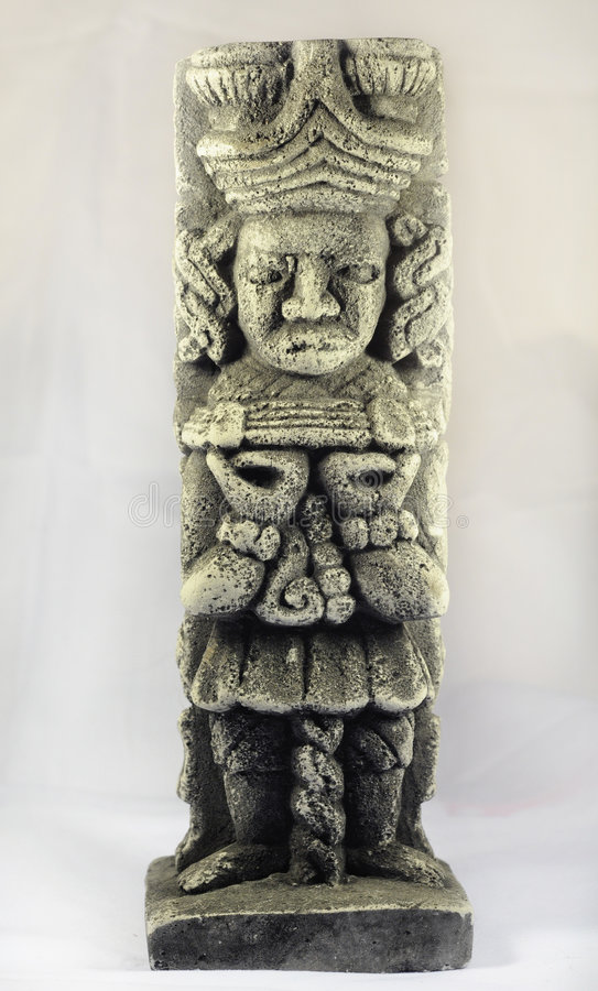 стародедовская майяская скульптура стоковое фото rf
