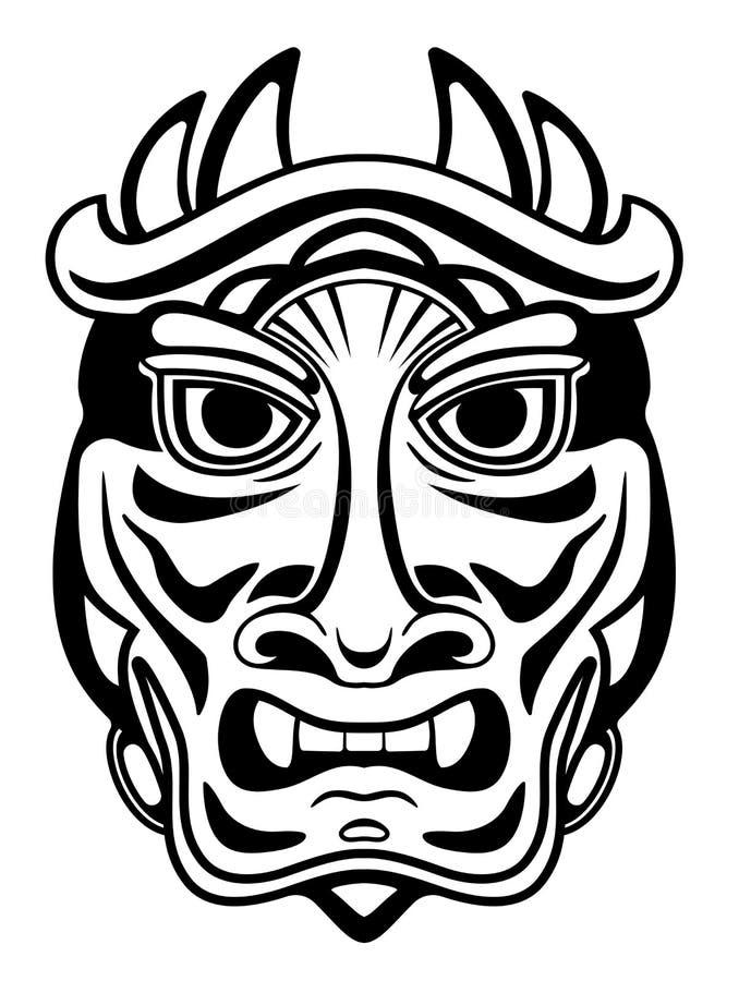 стародедовская маска иллюстрация штока