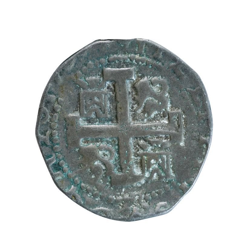 стародедовская монетка стоковое фото rf