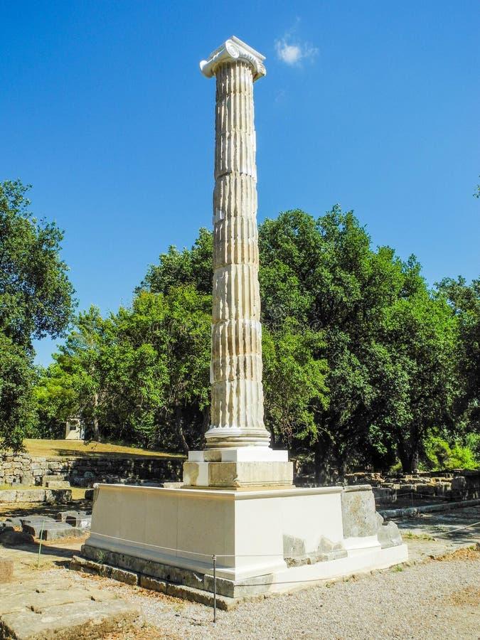стародедовская Олимпия Греции стоковая фотография