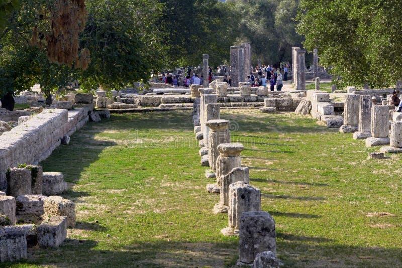 стародедовская Олимпия Греции стоковое изображение rf
