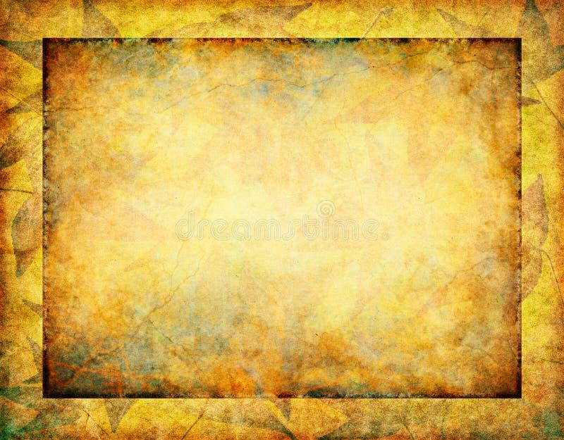 стародедовская рамка предпосылки иллюстрация штока
