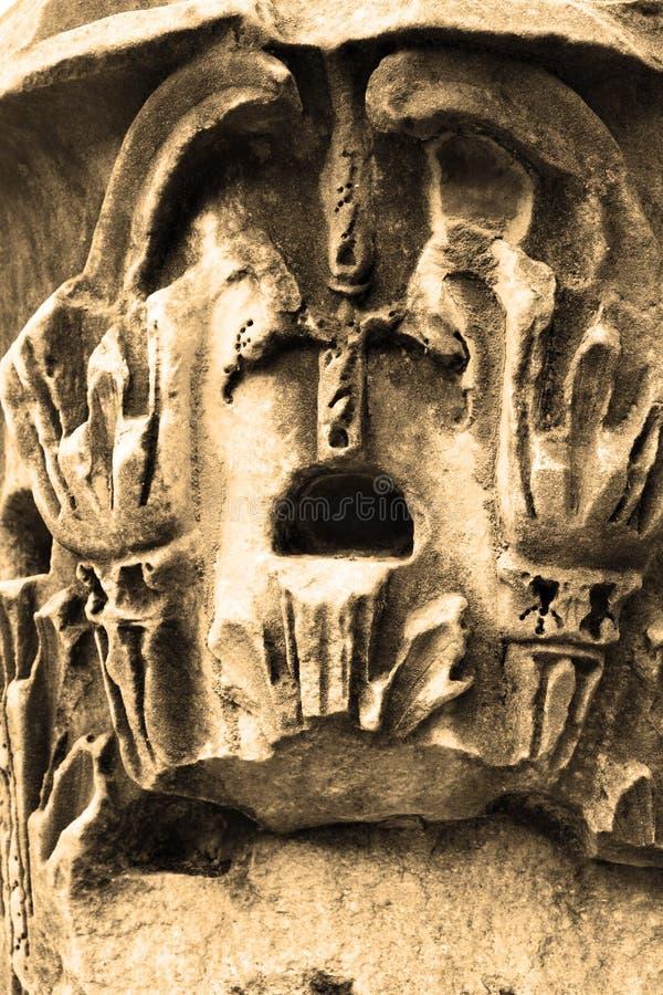 стародедовская римская скульптура стоковое фото