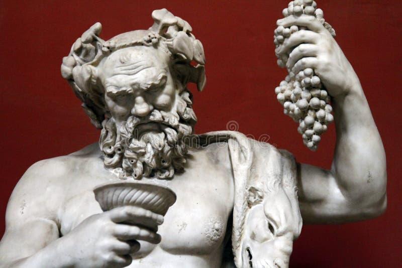стародедовская римская статуя стоковые фотографии rf