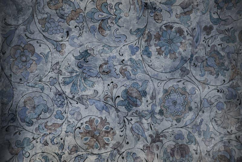 стародедовская стена картин стоковая фотография rf