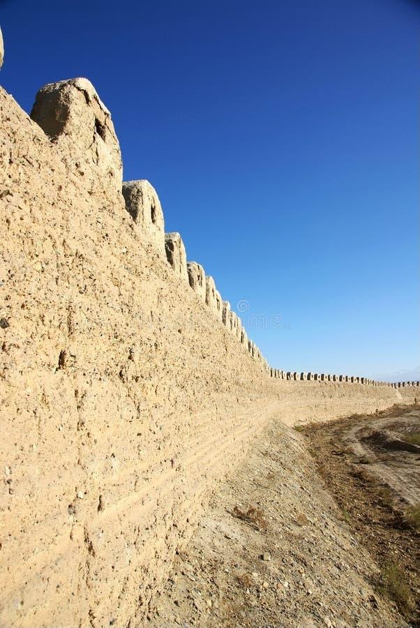 стародедовская стена пропуска jiayu города стоковые изображения rf