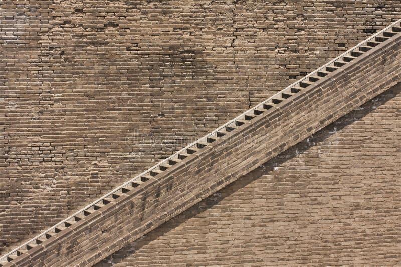 стародедовская стена stairway города стоковое изображение