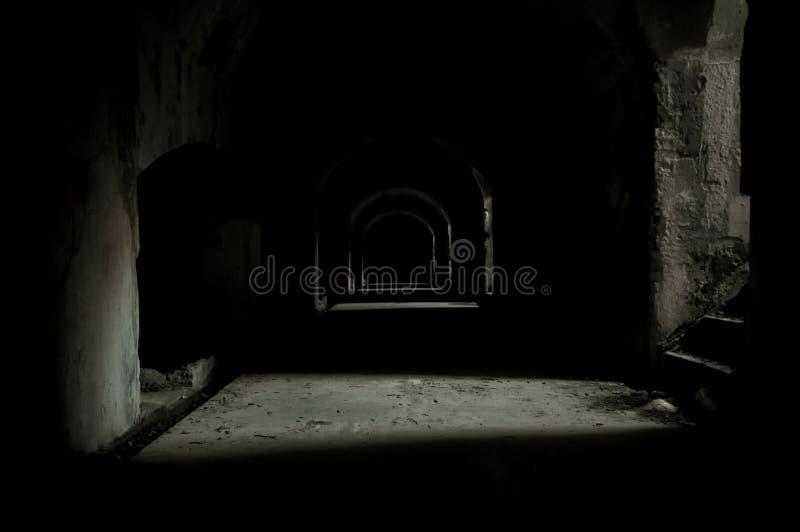 стародедовская усыпальница подземная стоковое изображение rf