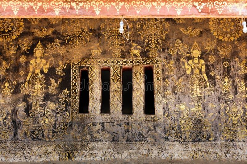 стародедовские золотистые картины стоковое изображение rf