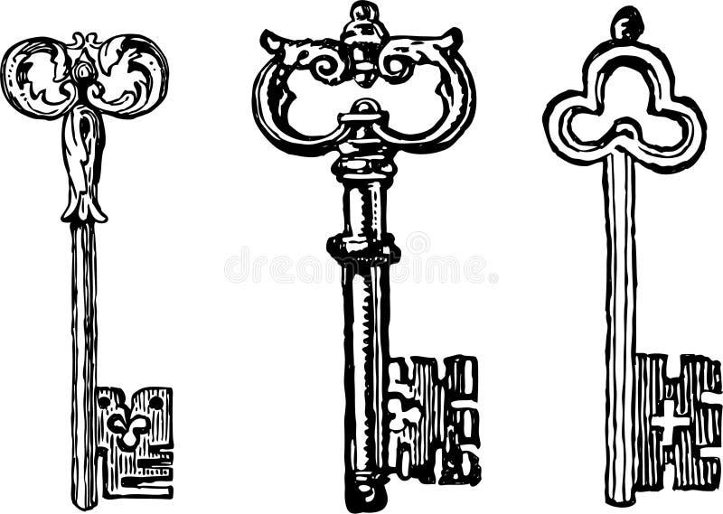 Стародедовские ключи бесплатная иллюстрация