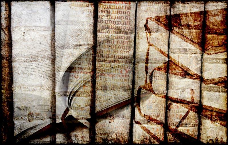 стародедовские книги стоковое изображение rf