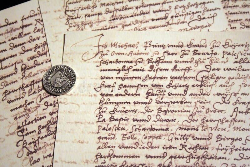 стародедовские сочинительства уплотнения стоковое изображение