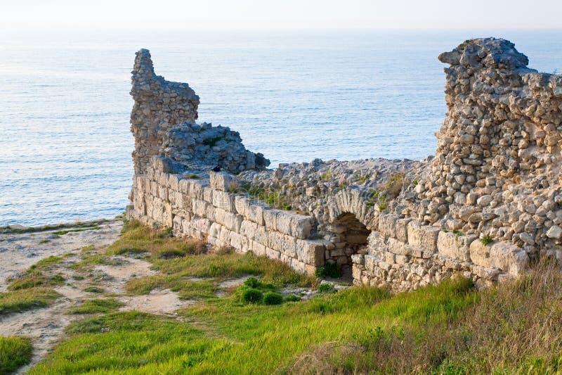 стародедовские chersonesos выравнивая городок стоковые изображения rf