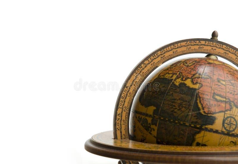 стародедовский глобус земли стоковое изображение