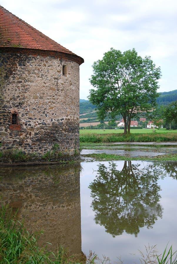 стародедовский замок стоковое фото rf