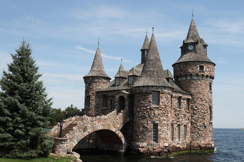 стародедовский камень замока boldt стоковое фото
