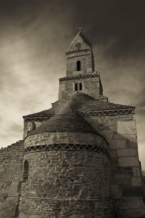 стародедовский камень Румынии церков стоковое изображение