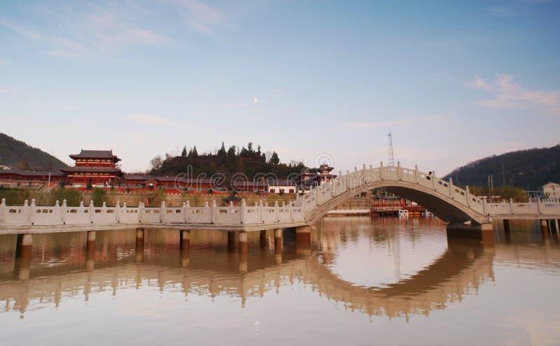 Стародедовский китайский сад стоковые изображения rf