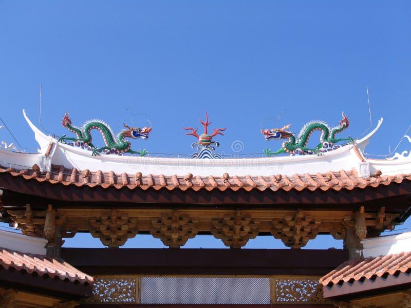 стародедовский китайский pagoda стоковые фотографии rf