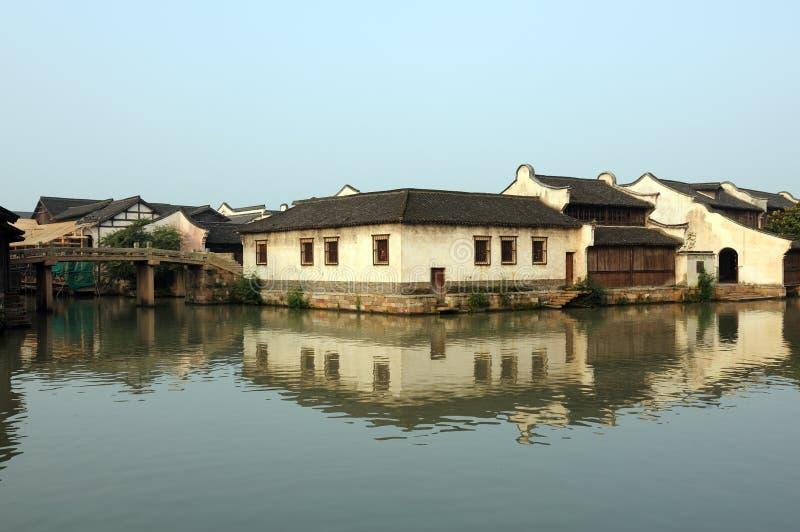 стародедовский фарфор здания wuzhen стоковые изображения rf