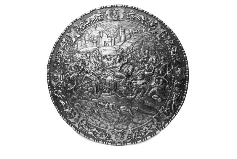 стародедовский экран стоковая фотография