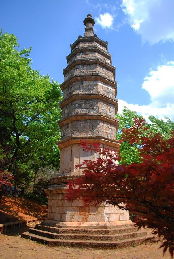 стародедовский pagoda стоковое фото rf