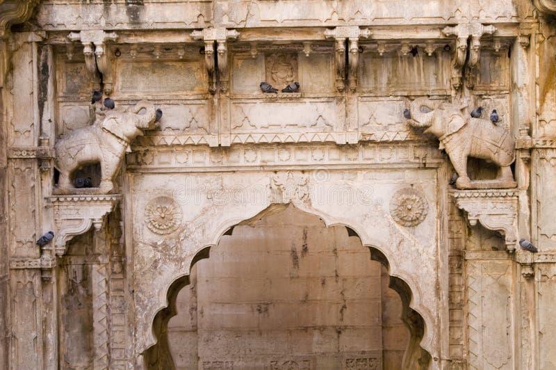 стародедовское индийское добро шага стоковое фото