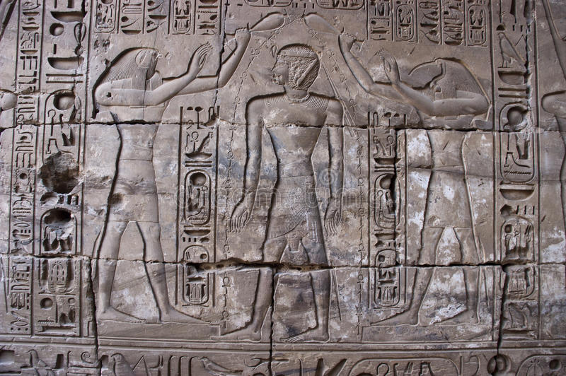 стародедовское перемещение hieroglyphics Египета египетское стоковое изображение rf
