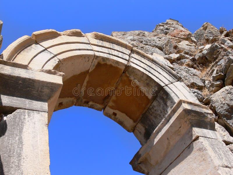 стародедовское ephesus города стоковое фото rf