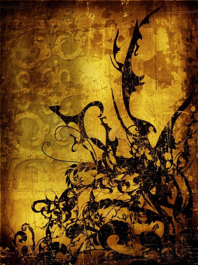 Download стародедовское Grunge предпосылки Иллюстрация штока - иллюстрации: 701888