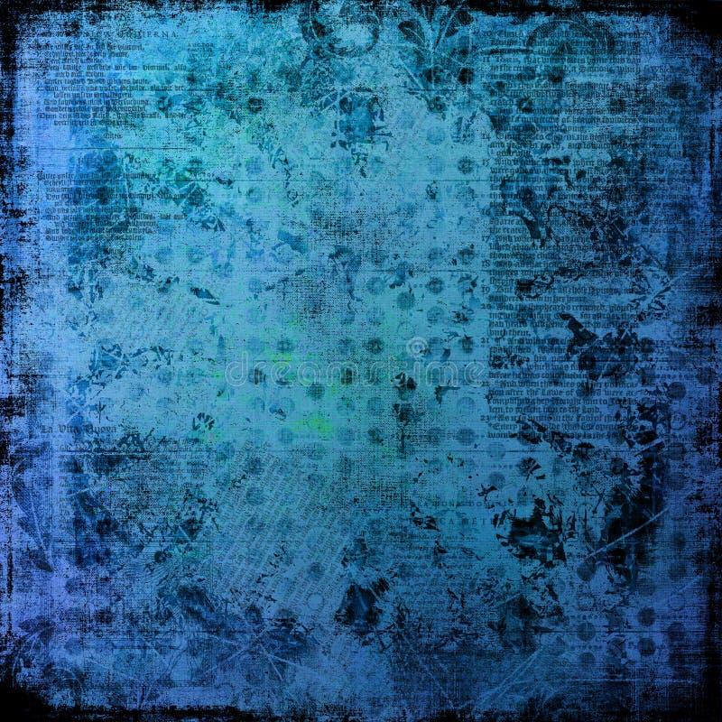 стародедовской огорченные предпосылкой grungy письма льда стоковое изображение rf