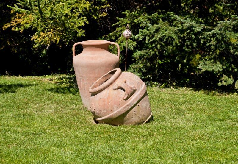 Старое агашко сада стоковое изображение