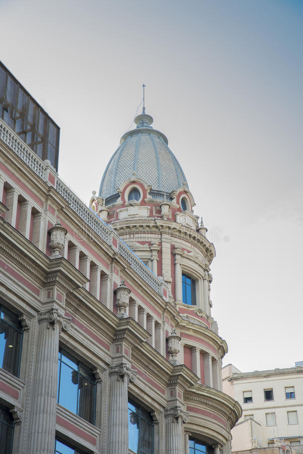 Старое архитектурноакустическое здание стоковые фото